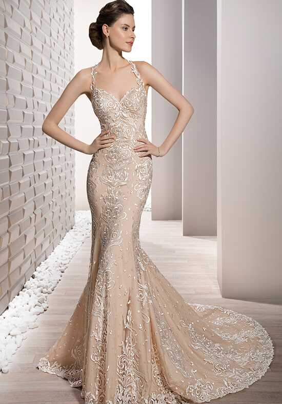 Demetrios 705 Sheath Wedding Dress