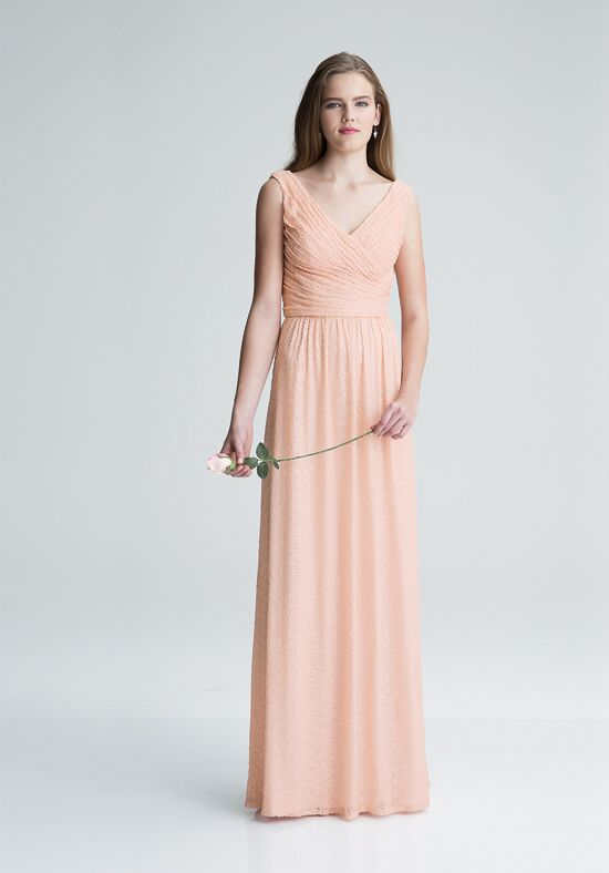 Bill Levkoff 1417 V-Neck Bridesmaid Dress