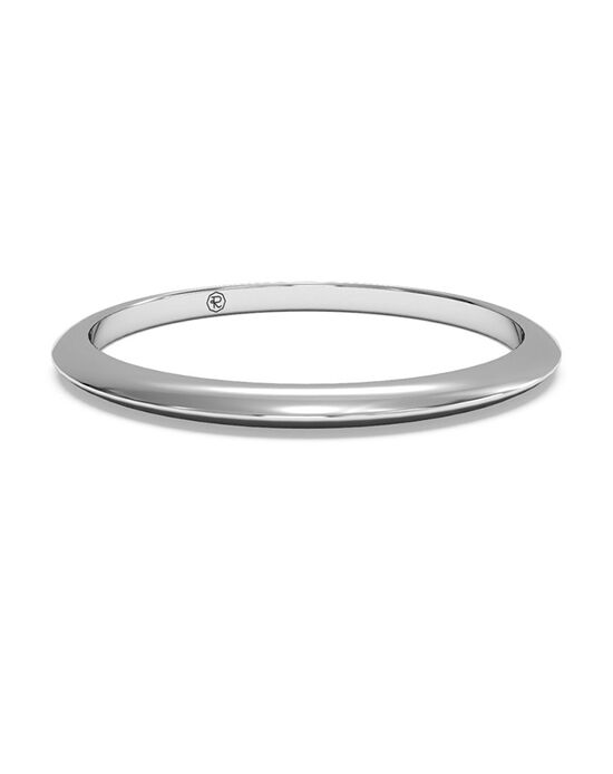 Ritani Women's Classic Knife-Edge Wedding Band - in 14kt White Gold White Gold Wedding Ring