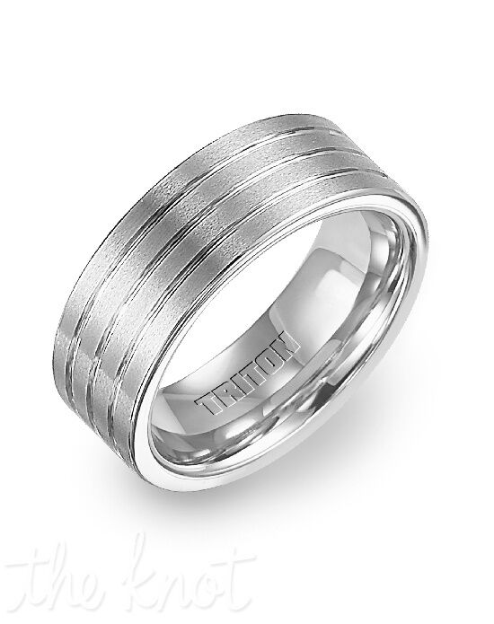 Triton 11-2319HC-G Tungsten Wedding Ring