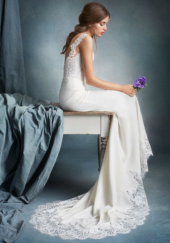 Tara Keely by Lazaro 2603 Sheath Wedding Dress