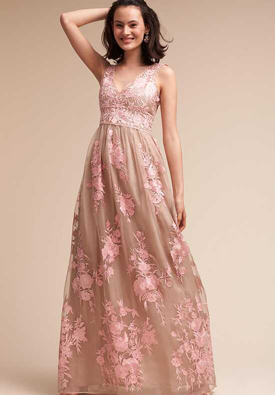 BHLDN (Bridesmaids) Lenox V-Neck Bridesmaid Dress