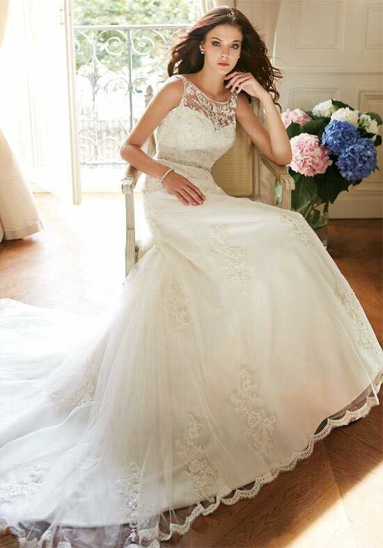 Jasmine Collection F151012 A-Line Wedding Dress