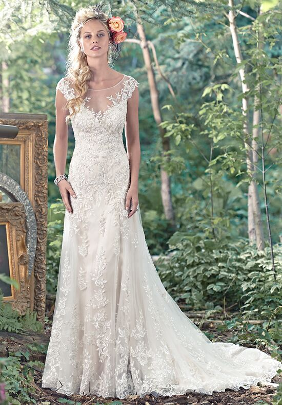 maggie sottero tami a line wedding dress