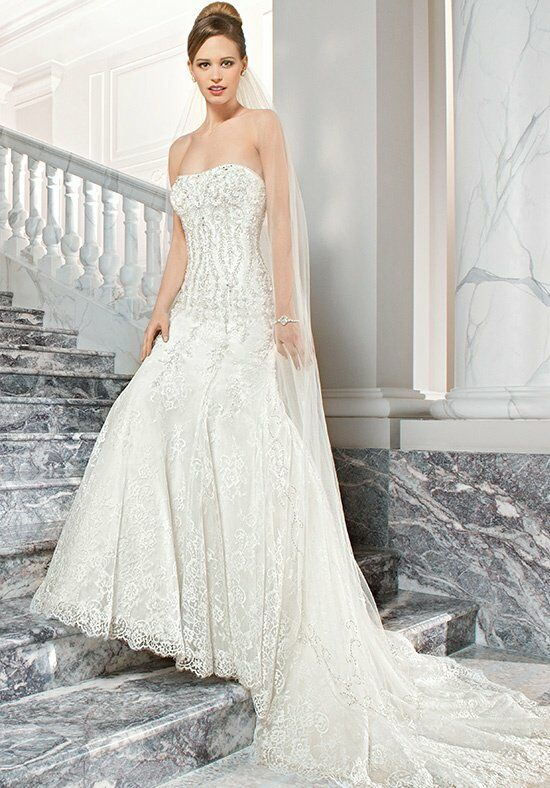 Demetrios C211 A-Line Wedding Dress