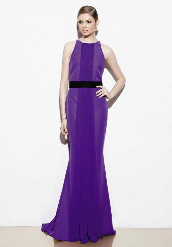 Badgley Mischka BM6 Bateau Bridesmaid Dress