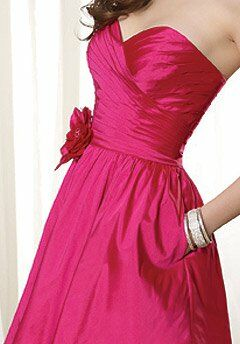 Angelina Faccenda Bridesmaids 20267 Strapless, Sweetheart Bridesmaid Dress