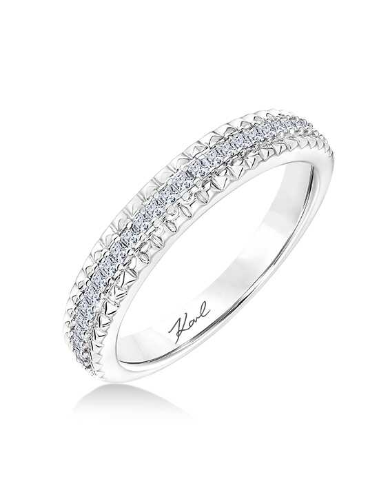 KARL LAGERFELD 31-KA133P Gold, White Gold, Platinum Wedding Ring