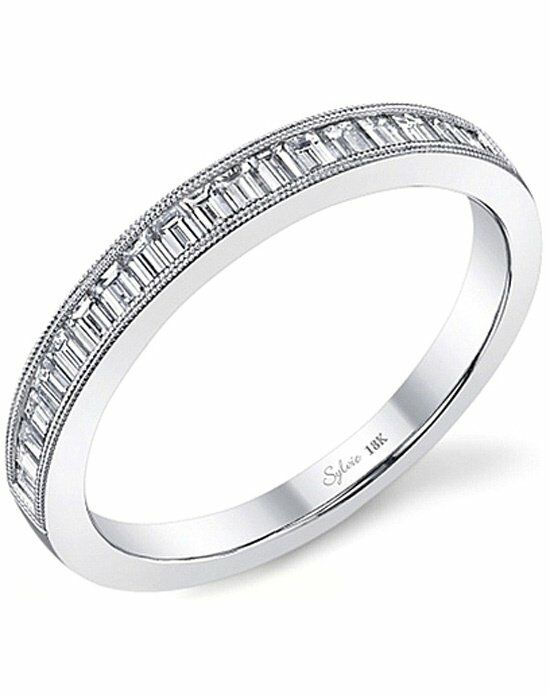 Since1910 SY711B White Gold Wedding Ring