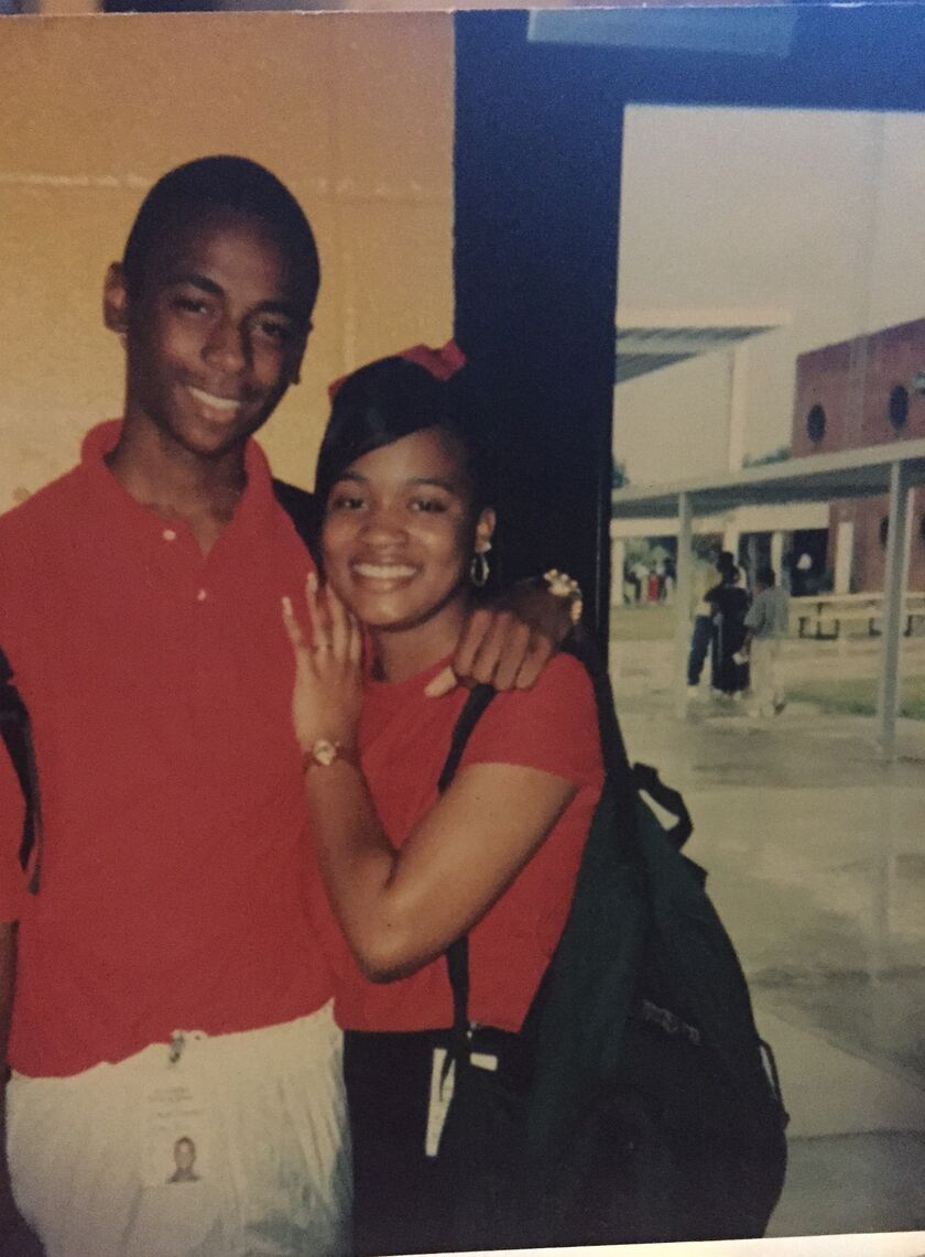 sharmaine jones and darian bergeron s wedding website darian and sharmaine met on one sunny day at gravois park in south vacherie during a baseball tour nt he was riding joey and they spoke briefly
