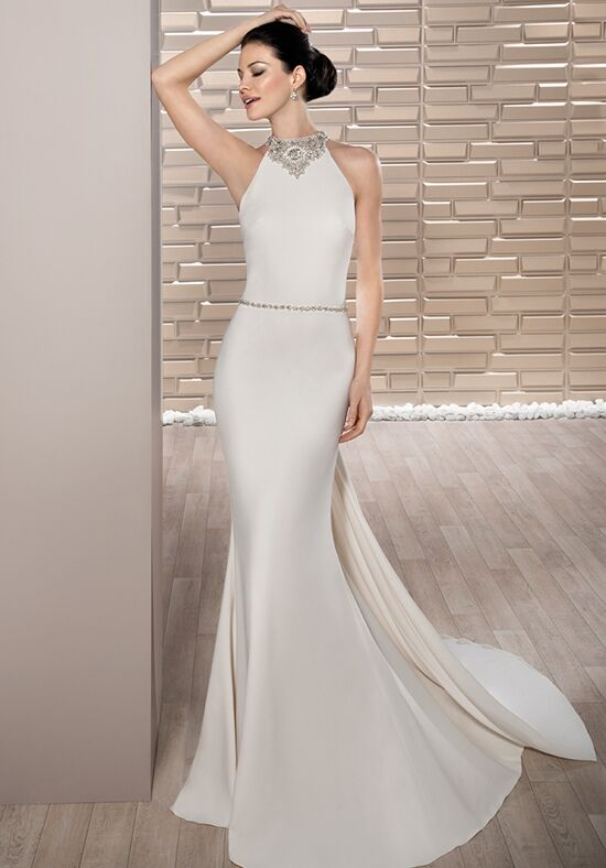 Demetrios 700 Sheath Wedding Dress