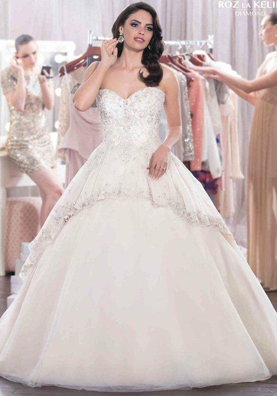 Roz la Kelin - Diamond Collection Astor 5750T Set Wedding Dress ...