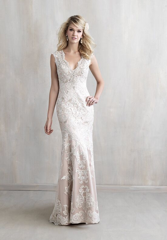 Madison James MJ216 Sheath Wedding Dress