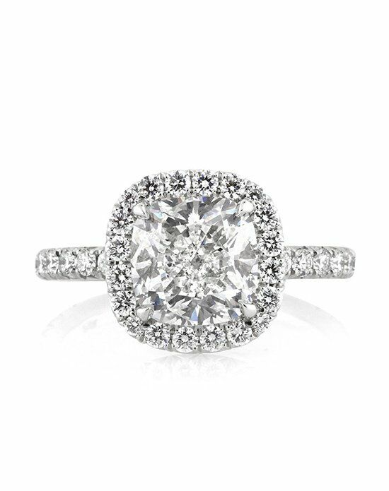 Mark Broumand Classic Cushion Cut Engagement Ring