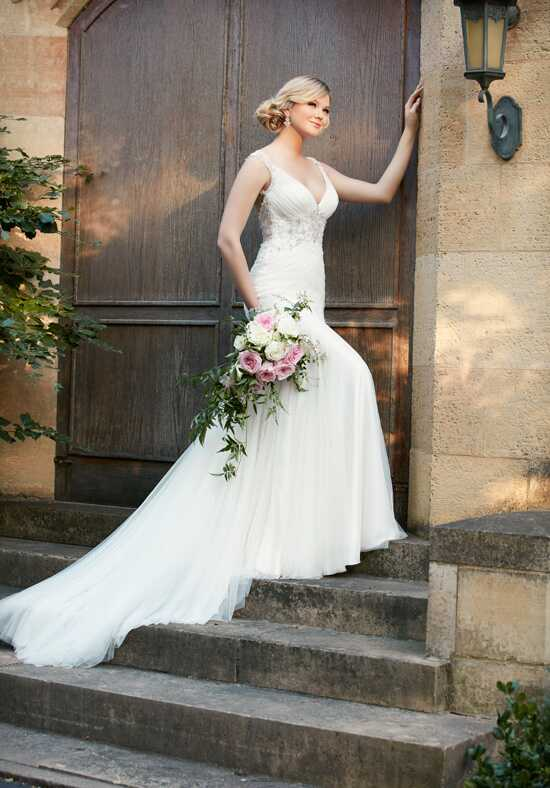 Essense of Australia D2078 Mermaid Wedding Dress