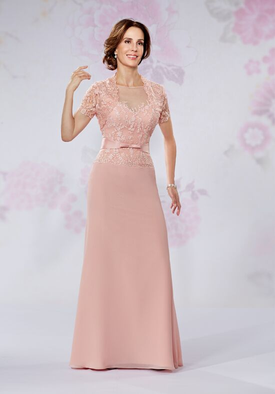 Beautiful Mothers by Mary's M2725 Brown Mother Of The Bride Dress