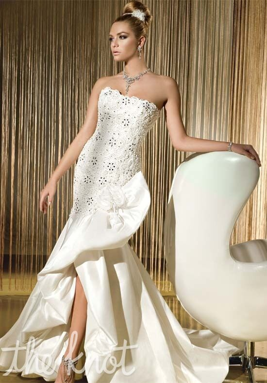 Demetrios 513 Mermaid Wedding Dress