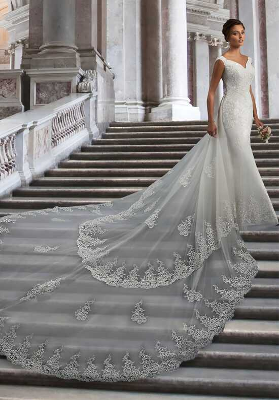 1 Wedding by Mary's Bridal 6574 Mermaid Wedding Dress