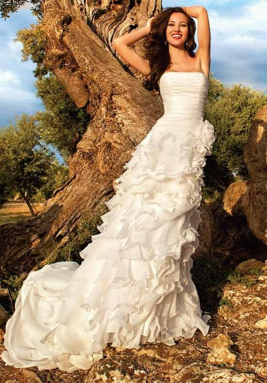 Demetrios 3192 A-Line Wedding Dress