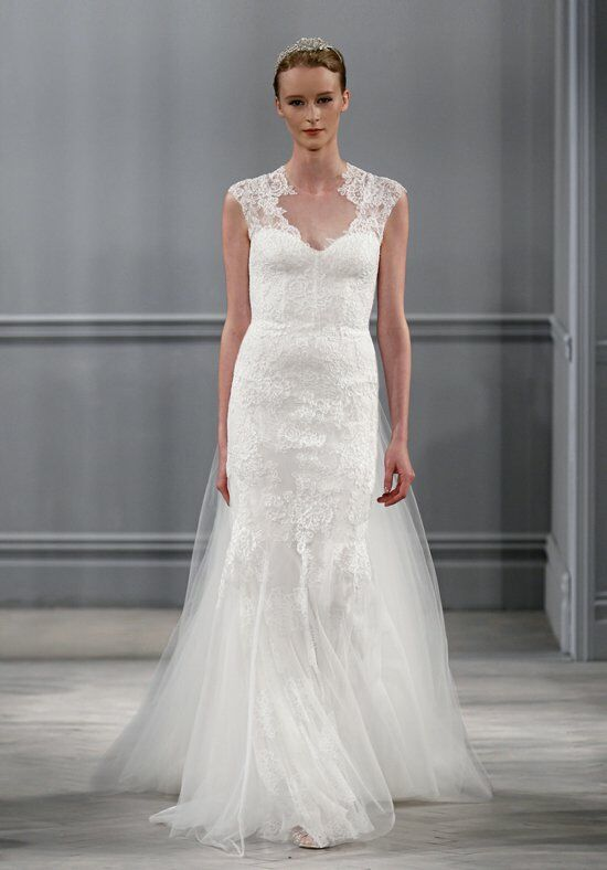 Monique Lhuillier Harper Gown Sheath Wedding Dress