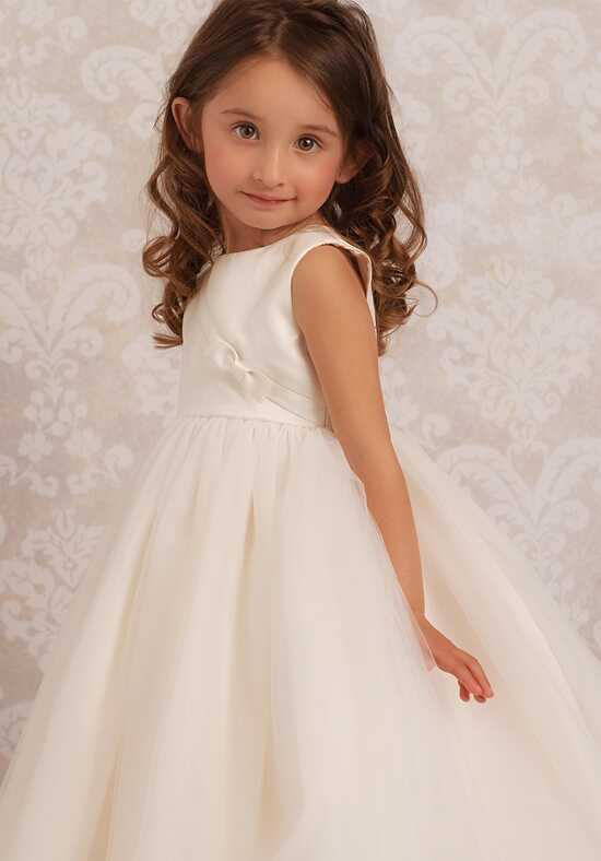 FATTIEPIE Who's the fairest of them all Ivory Flower Girl Dress
