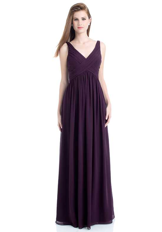 Bill Levkoff 730 V-Neck Bridesmaid Dress