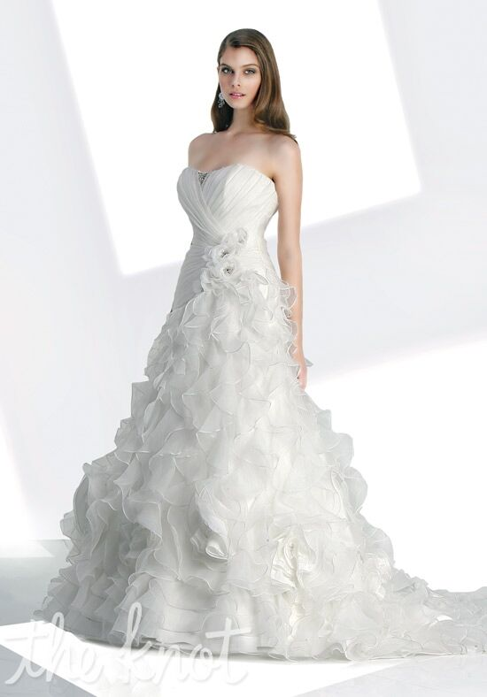 Impression Bridal 10043 A-Line Wedding Dress