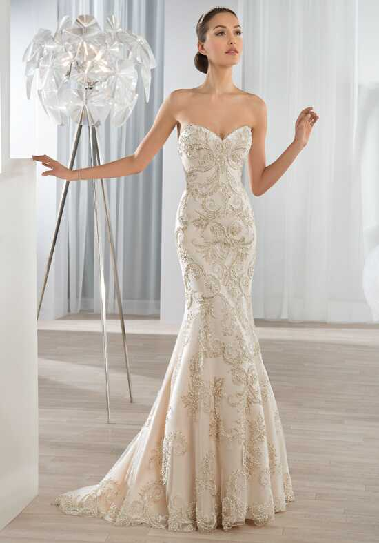 Demetrios 619 Mermaid Wedding Dress