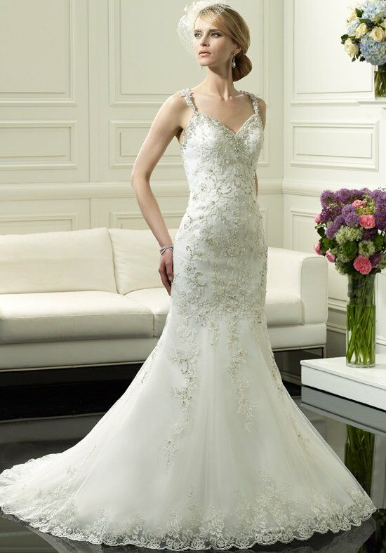 Moonlight Couture H1247 Mermaid Wedding Dress