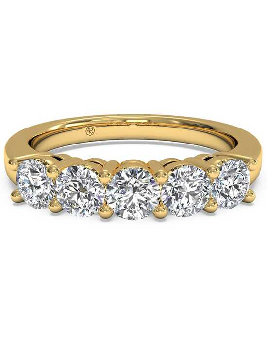 Ritani Women's Five-Stone Diamond Wedding Band - in 18kt Yellow Gold (0.75 CTW) Gold Wedding Ring