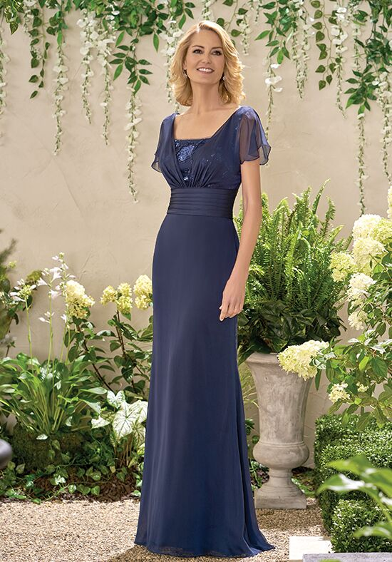 Jade J195009 Blue Mother Of The Bride Dress