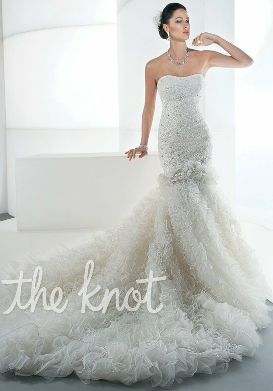 Demetrios 539 Wedding Dress