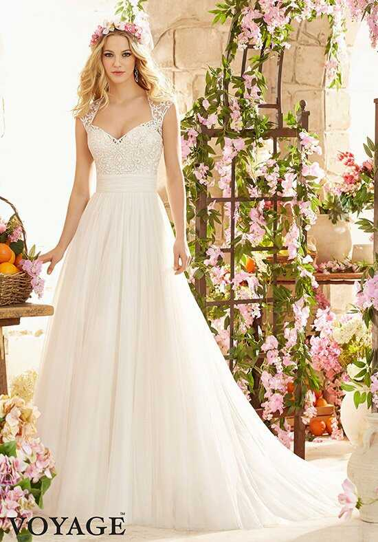 Morilee by Madeline Gardner/Voyage 6803 A-Line Wedding Dress