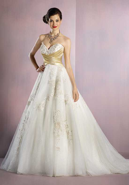 Alfred Angelo Disney Fairy Tale Weddings Bridal Collection 256 Snow White Wedding Dress