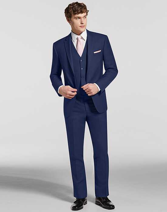 Men's Wearhouse Calvin Klein® Blue Suit Blue Tuxedo