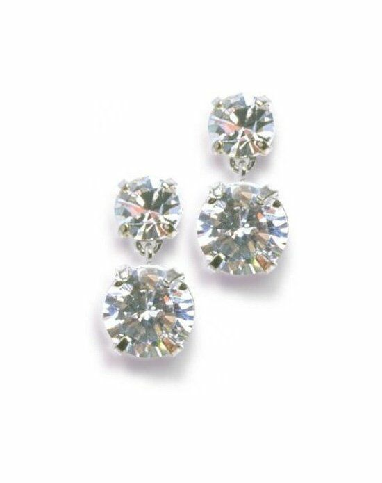 Anna Bellagio ELEKTRA CUBIC ZIRCONIA EARRINGS Wedding Earring photo