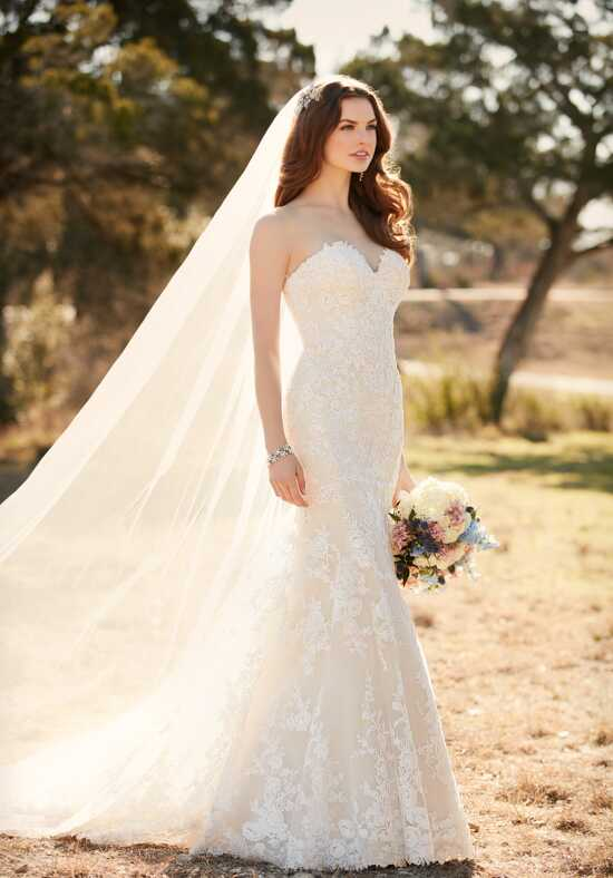 Essense of Australia D2109 Mermaid Wedding Dress