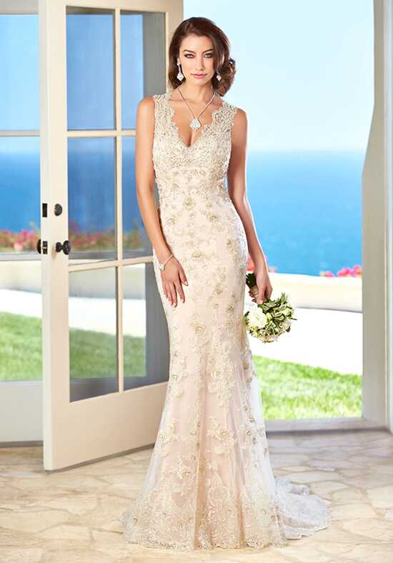 KITTYCHEN Couture FIONA, H1615 Sheath Wedding Dress
