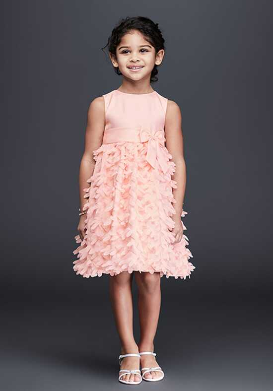 David's Bridal Flower Girl David's Bridal Style 0397 Pink Flower Girl Dress