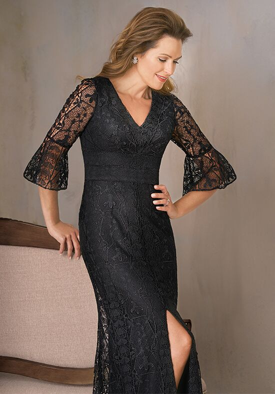 Jade Couture K208012 Black Mother Of The Bride Dress