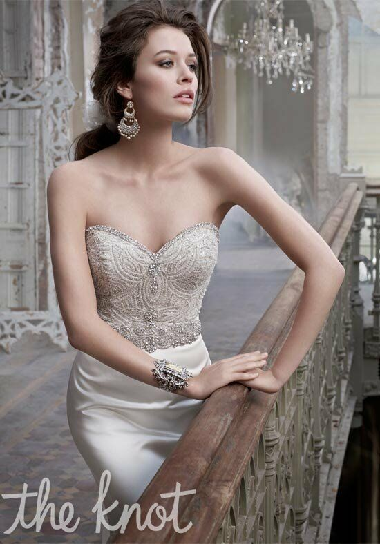 Lazaro 3214 Mermaid Wedding Dress