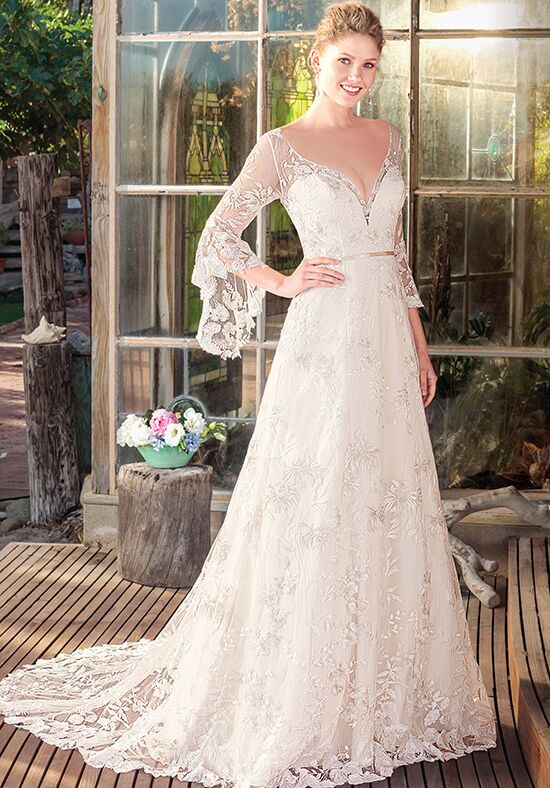 Beloved by Casablanca Bridal BL252 Rayne A-Line Wedding Dress