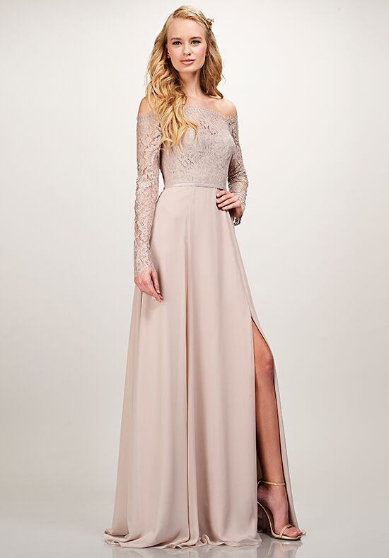 THEIA Bridesmaids Isabel Off the Shoulder Bridesmaid Dress