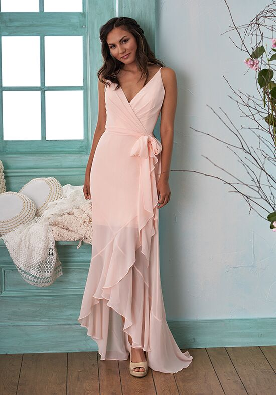 B2 by Jasmine B203001 V-Neck Bridesmaid Dress