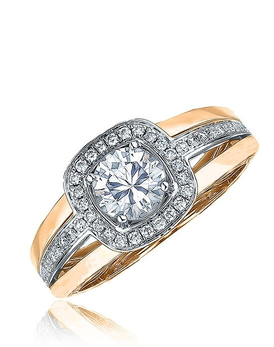 Frederic Sage RM103-WP Rose Gold Wedding Ring