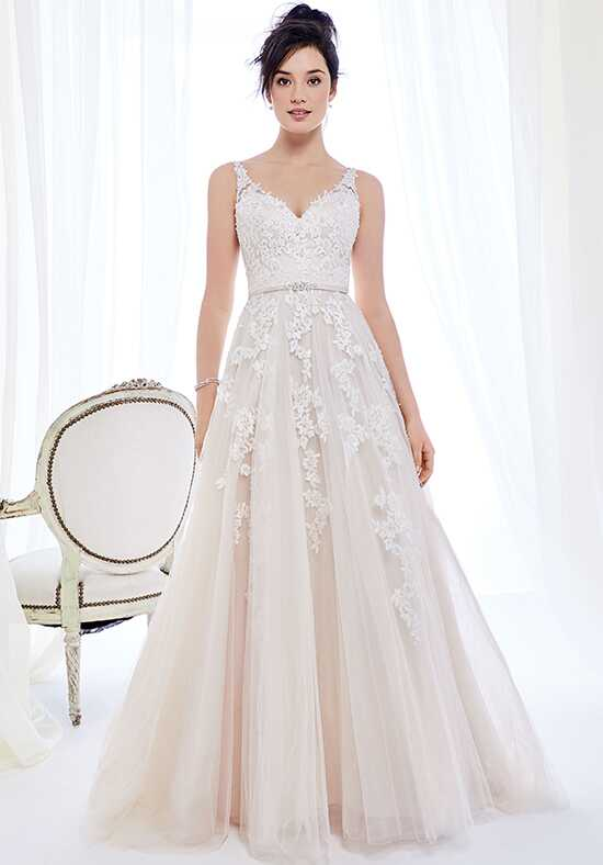 Kenneth Winston: Ella Rosa Collection BE395 A-Line Wedding Dress
