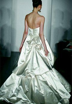 Kenneth Pool Royalty Ball Gown Wedding Dress