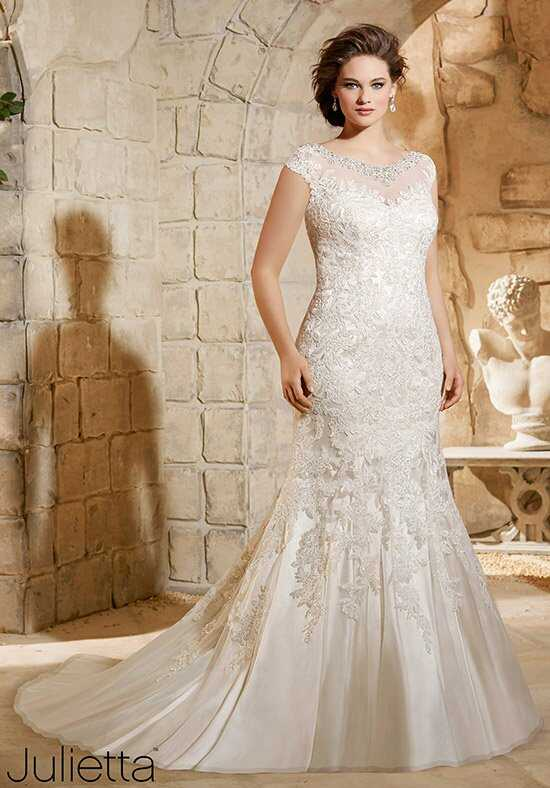 Morilee by Madeline Gardner/Julietta 3188 Sheath Wedding Dress