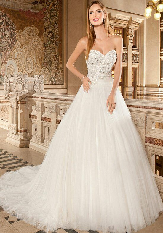 Demetrios GR266 A-Line Wedding Dress