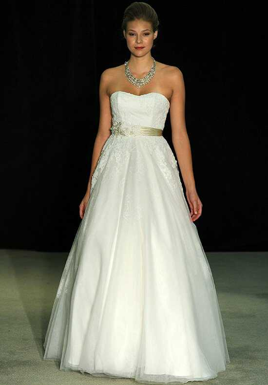 Anne Barge Swan Lake Ball Gown Wedding Dress